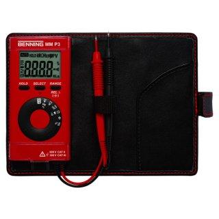 BENNING MM P3 Digital-Multimeter im Taschenformat 600 V...