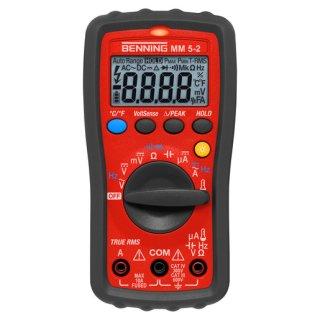 BENNING MM 5-2 True RMS Digital-Multimeter 600 V AC/DC....