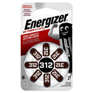 Energizer 312 Hörgerätebatterie (8 Stk.)...