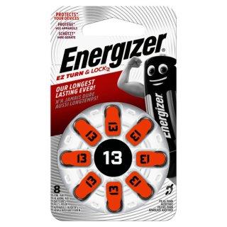 Energizer 13 Hörgerätebatterie (8 Stk.)...