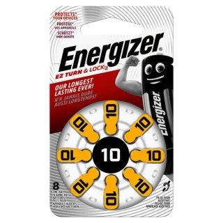 Energizer 10 Hörgerätebatterie (8 Stk.)...