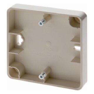 Berker 10020002 Aufbau-Gehäuse flach AP Zub. weiß