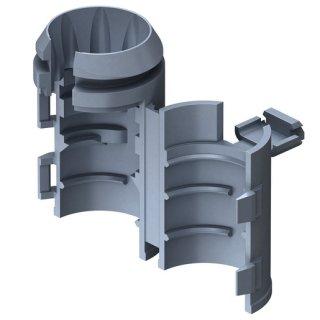 Kaiser 1274-20 Einbaugehäuse Rohrstopper, für...