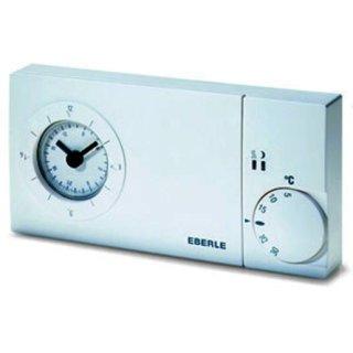Eberle & Co. easy 3 pt Uhrenthermostat 5-30C, mit TA...