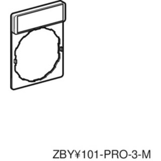 Schneider Electric ZBY2147 Schildträger 30x40mm,...