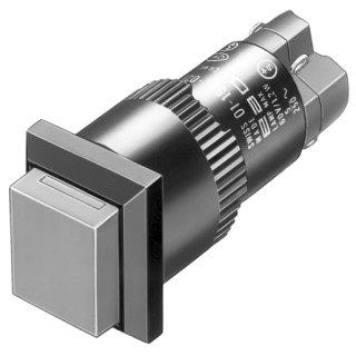 EAO 01-151.0252 Leuchtdrucktaste I SP 1Ö+1S 18x18 L...