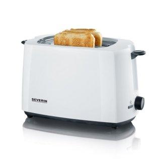 Severin AT2286 Automatik Toaster, 700W, weiß-schwarz