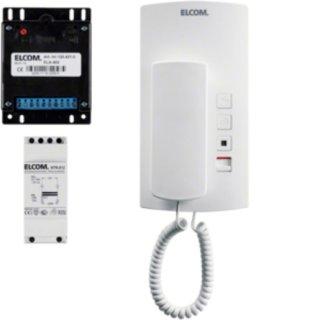 Elcom 1000141 AEK-1 AudioKit 1TLN 1+n weiß HAT-402
