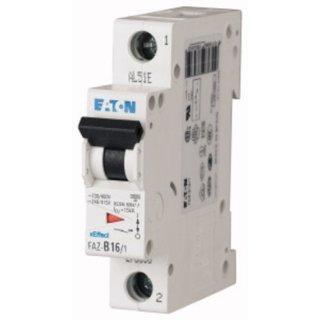 Eaton Electric FAZ-C2/1 Leitungsschutzschalter, 2 A, 1p,...