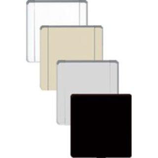 Cleanpower CP-640 Wandsaugdose Europa Metall weiß matt