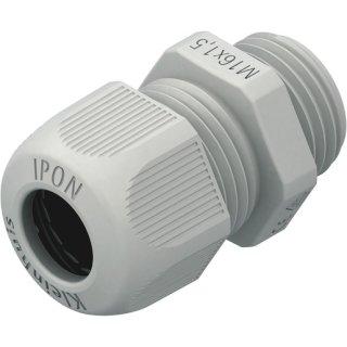 HKVM2501 Kabelverschraubung 25mm vollmetrisch ,lichtgrau,...