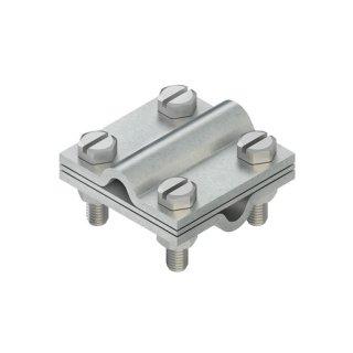HKEV1-10 Kreuz-Erdungsverbinder für Rundleiter 8-10mm