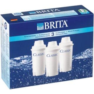 Brita 20538 Classic Pack 3 Filterkartuschen